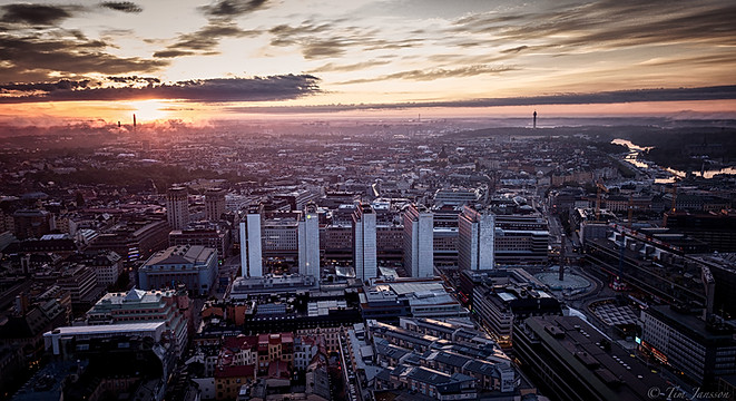 Stockholm city.