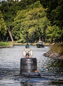 Submarine in Djurgårdskanalen
