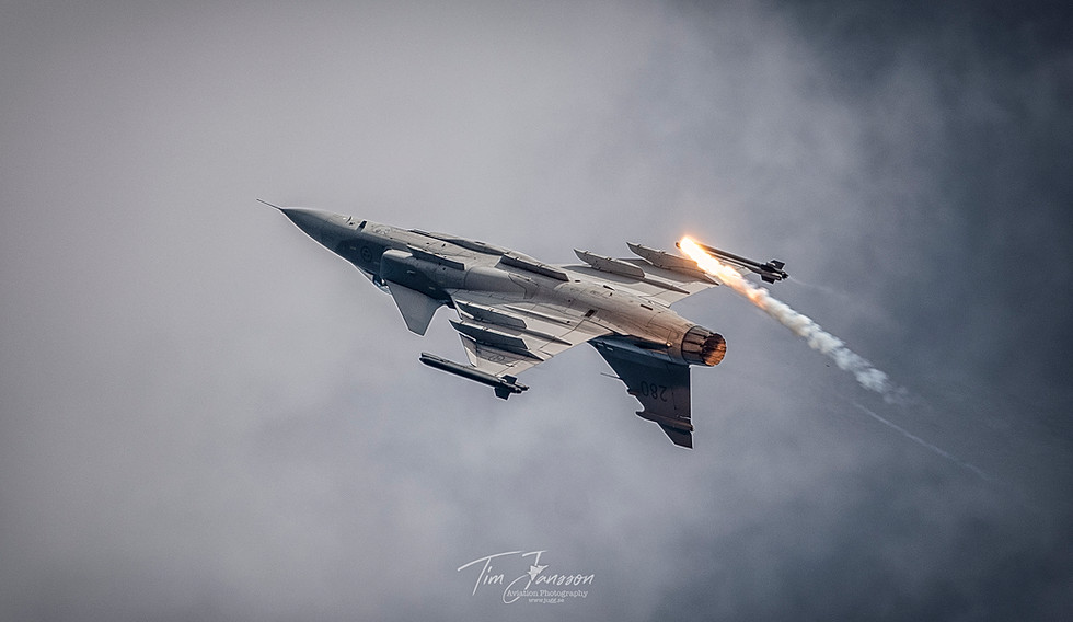 Gripen over the top