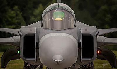 Swedish air force Saab JAS 39 Gripen