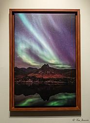 Framed northen light