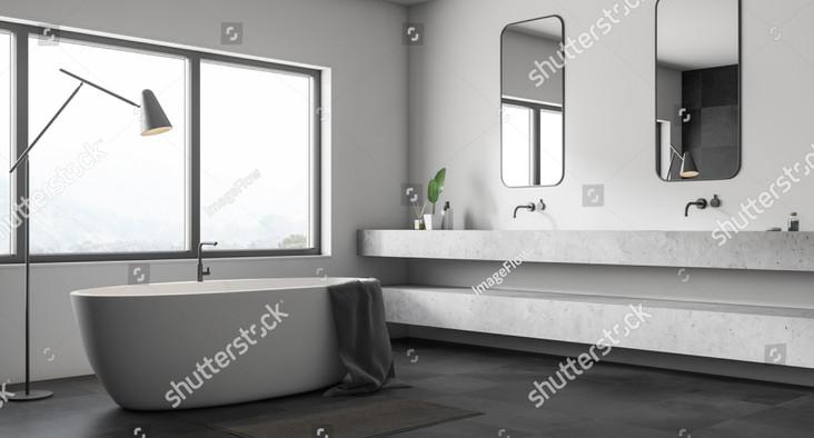 stock-photo-corner-of-modern-bathroom-wi