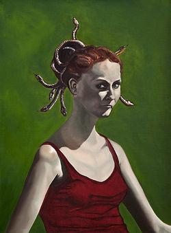 Medusa oil on canvas