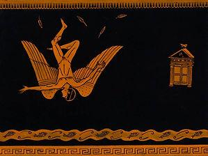 Icarus Gouache on paper 2013 eduardo lara illustration