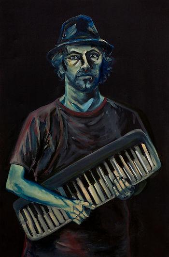 eduardo, lara, painting, musicians, artist, julian teubal