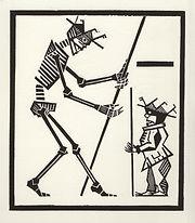 engraving, eduardo, lara, danse macabre, dance of death, artist, pritnmaking, grabado, dwarf, enano