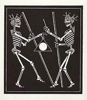 engraving, eduardo, lara, danse macabre, dance of death, artist, pritnmaking, grabado, god, divinity, dios