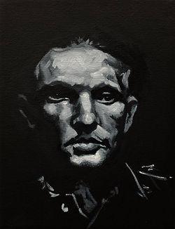 karl curda the informer anthropid oil painting eduardo lara artist