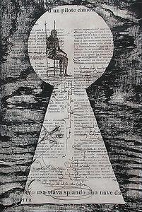 Contemplation VI Litography, etching and woodcut 60 x 40 cm 2001 eduardo lara artist