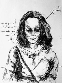 Rebeca Charcoal on paper 80 x 60 cm 2002 eduardo lara drawing