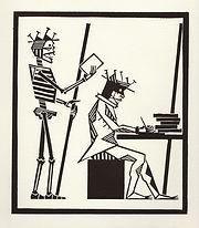 engraving, eduardo, lara, danse macabre, dance of death, artist, pritnmaking, grabado, writer, books, literature,