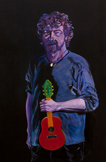eduardo, lara, painting, musicians, artist, george pacurar