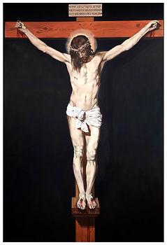 eduardo, lara, painting, doubles, twins, doppelganger, artist, art, repetition, couples, double, velazquez, copy, christ, crucified,