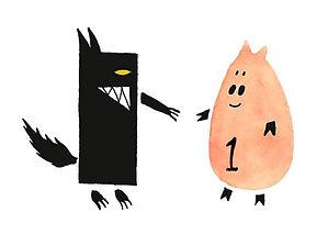 The Deal Gouache on paper 2013 eduardo lara illustration