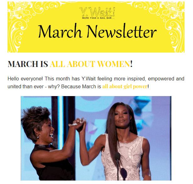 Y.Wait Newsletters