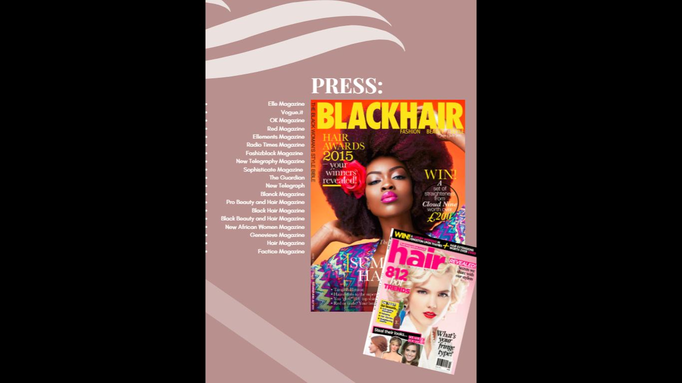 Joy Adenuga Press Kit