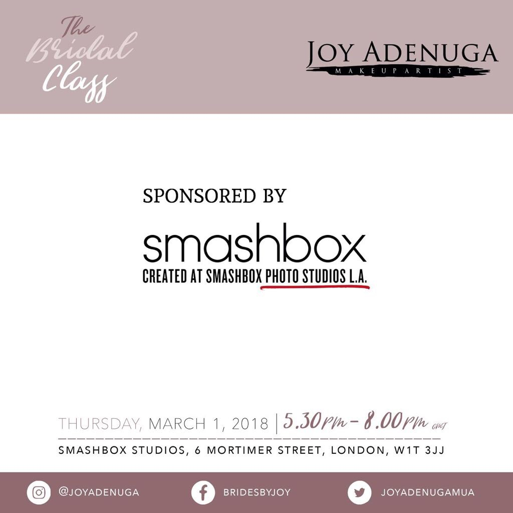Sponsored by Smashbox