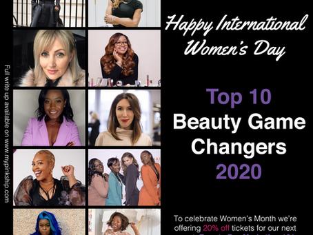 International Women's Day: Top 10 Beauty Industry Game Changers