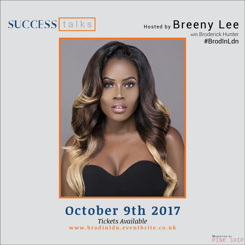 #BrodInLdn Host Breeny Lee