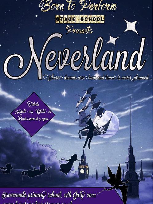 Neverland - Summer Show 2021 Tickets