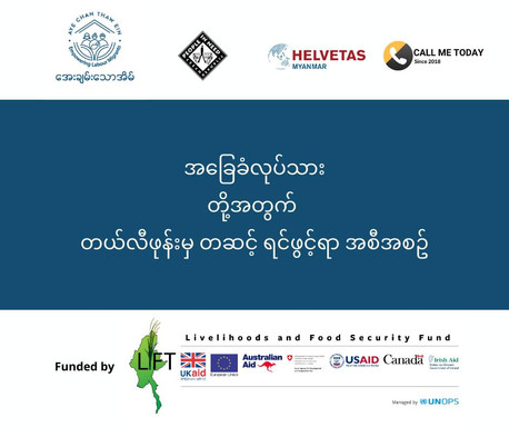 Blue-collar wokers hotline with the collaboration of the People In Need and the HELVETAS Myanmar