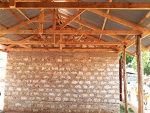 Extension to roof.