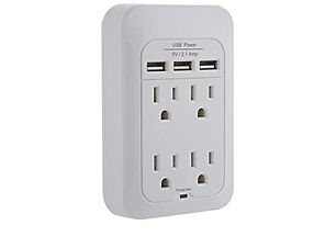 insignia 4 outlet surge protector with u