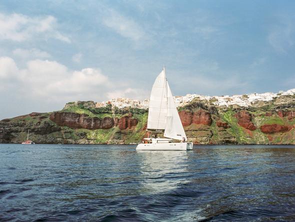 Layers of Luxe | Catamaran Honeymoon