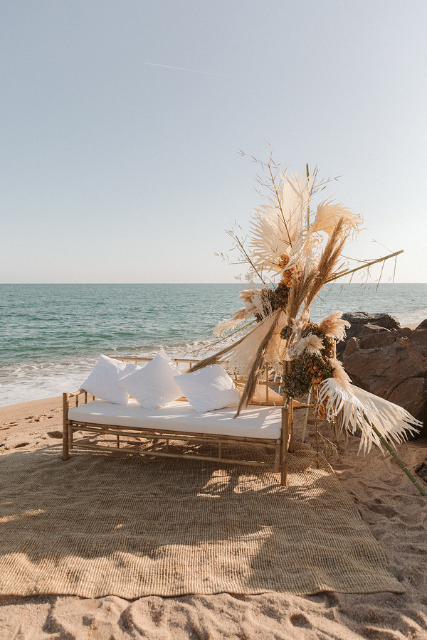 Layers of Luxe | Bohemian Barcelona Seaside