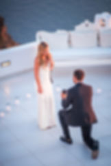 Layers of Luxe Weddings Magazine, A Surprise Wedding Proposal in Santorini, Greece