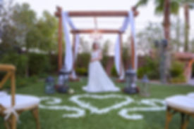 Layers of Luxe Weddings Magazine,Destination Weddings & Honeymoons, Hilton Garden Inn Las Vegas Strip South Hotel Wedding Venue, Garden Wedding Venue