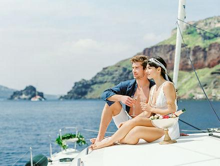 Layers of Luxe _ Catamaran Honeymoon