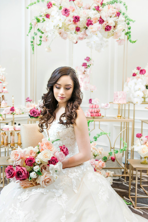 Layers of Luxe Wedding Magazine