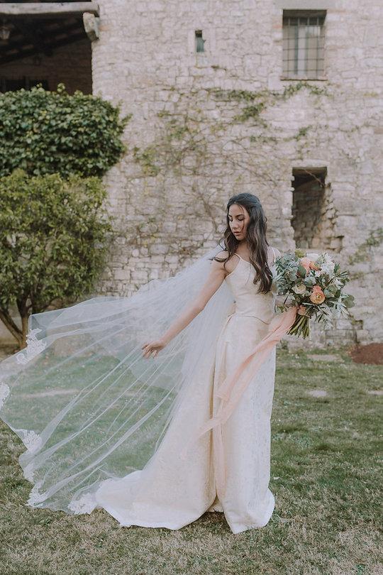 Layers of LUXE Weddings Destination Maga