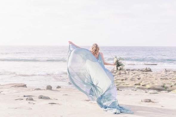 A Romantic, Mermaid-Inspired Styled Wedd