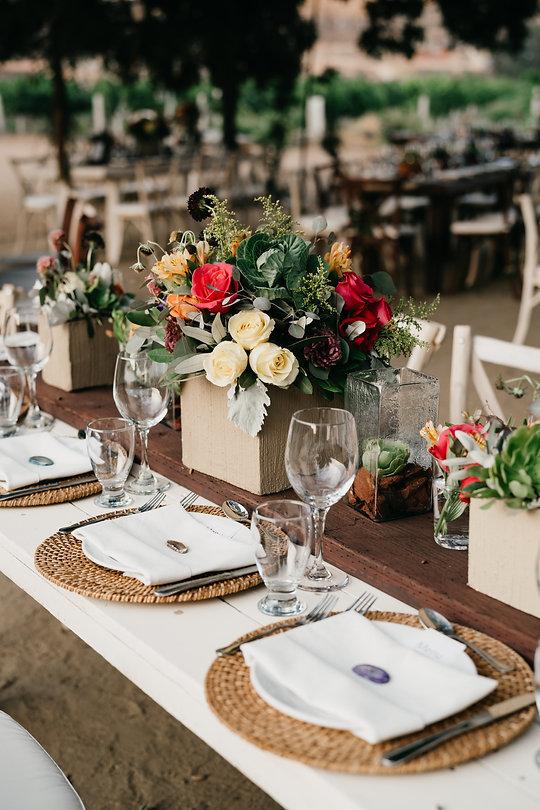 Layers of Luxe, Wedding Decor, Wedding Flowers, Desert Centerpiece