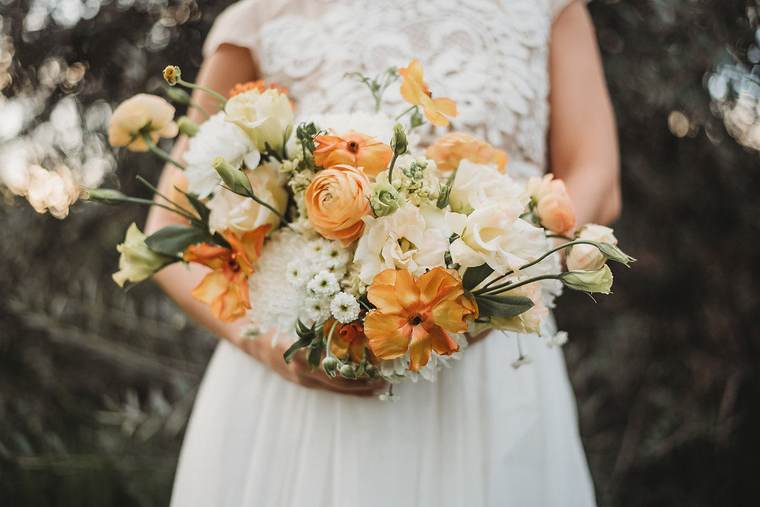 Layers of Luxe Weddings Magazine, Spring Inspired Bouquets