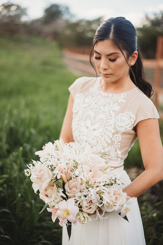 Layers of Luxe Weddings Magazine, Spring Inspired Bouquets, Styled Shoot