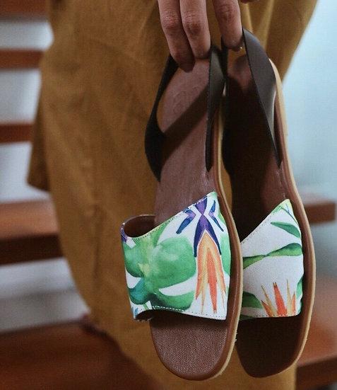 Laya sling back sandals