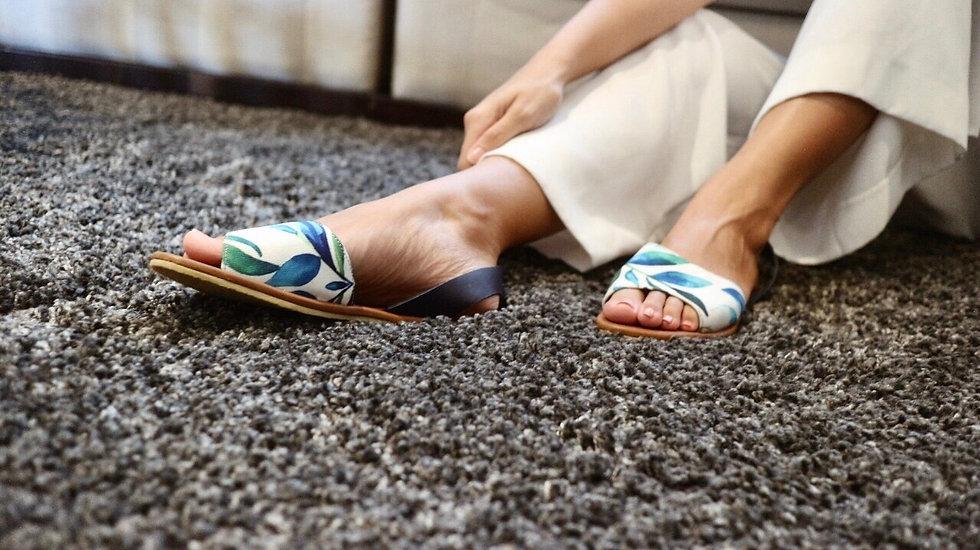 Lawig sling back sandals