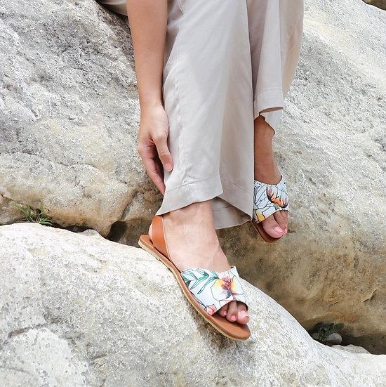 Ligaya sling back sandals