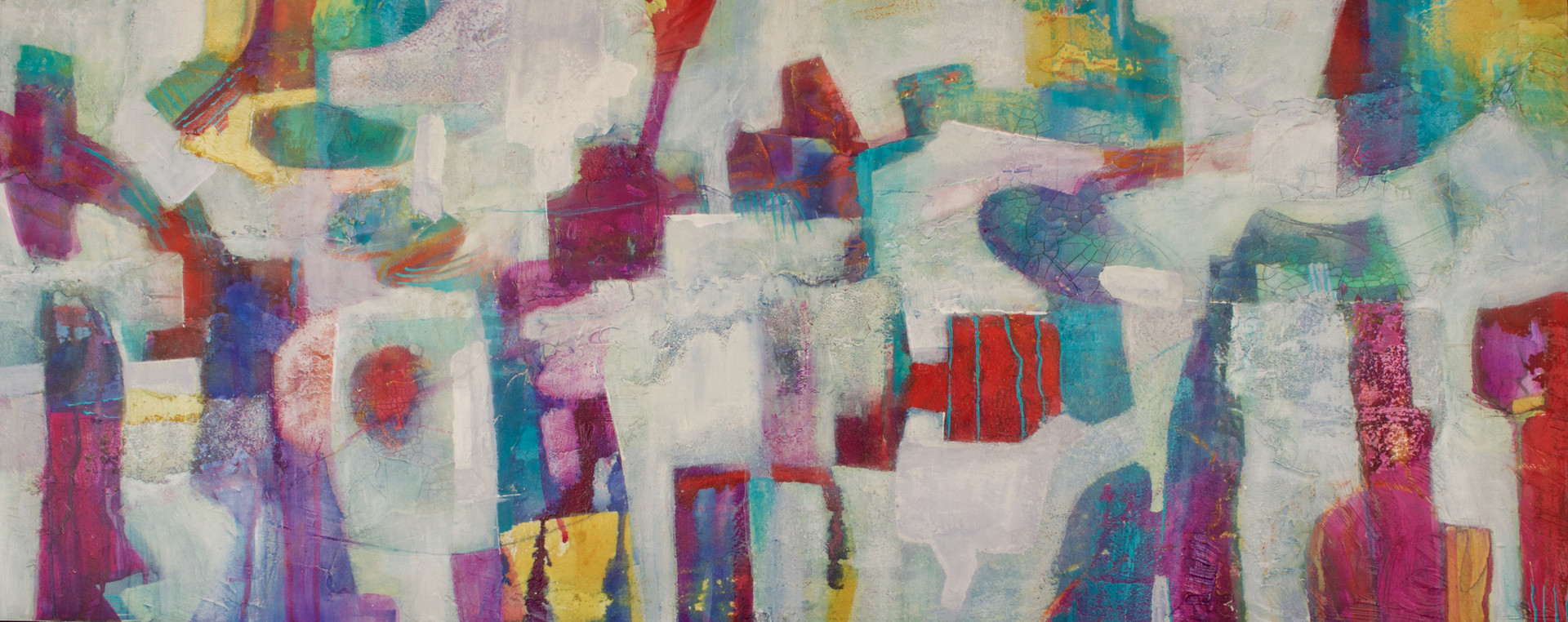 Life in the City  16 x 39