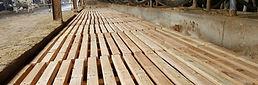 griglie in legno per cuccette
