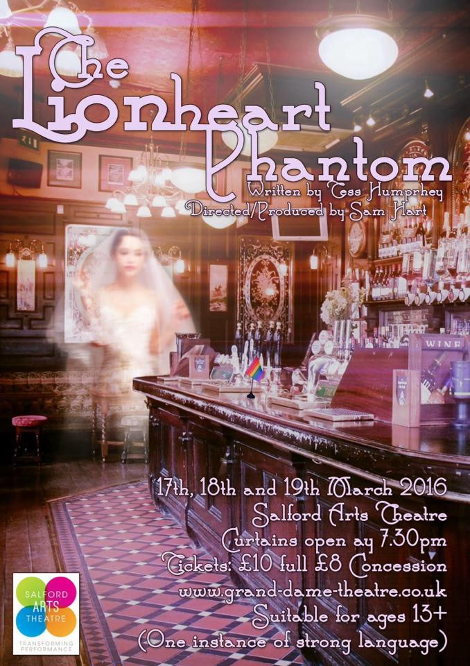 The Lionheart Phantom poster