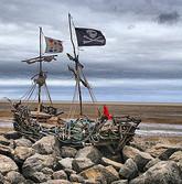 Grace Darling pirate ship, Hoylake