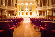 St Georges Hall concert room