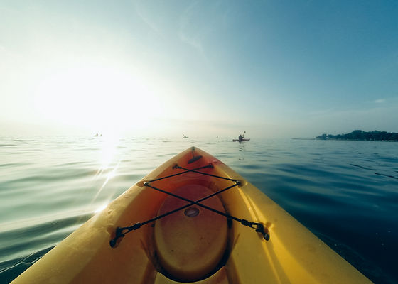 Kayaking on the Bass River