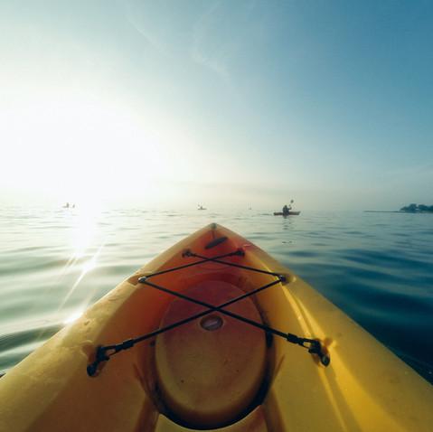 Kayaking / Donut Island