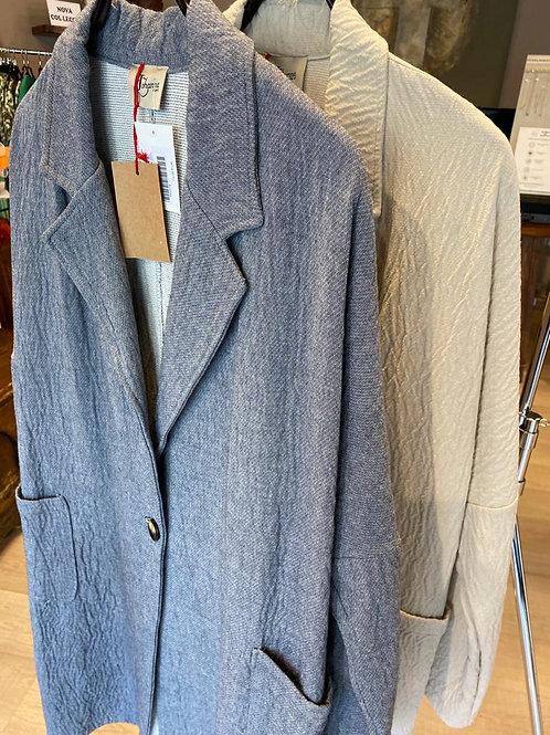 Abrigo algodón oversize
