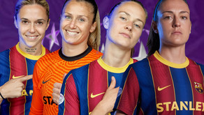 The 4 Barcelona players most likely to win the 2020-21 UWCL positional awards